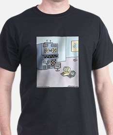 Dinosaur Computer Exhibit T-Shirt