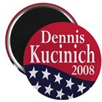 Dennis Kucinich for President in 2008 (Magnet)