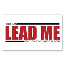 LEAD ME! Rectangle Decal
