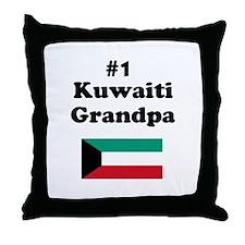 #1 Kuwaiti Grandpa Throw Pillow