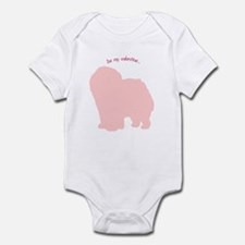 Chow Chow... Be My Valentine Infant Bodysuit