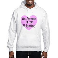 Airman Valentine Pink Hoodie