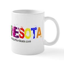 Colorful Minnesota Mug
