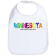 Colorful Minnesota Bib