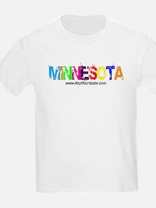 Colorful Minnesota T-Shirt