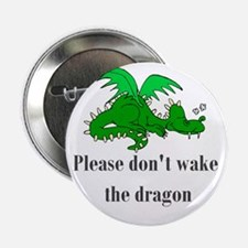 "Sleeping Dragon 2.25"" Button (10 pack)"