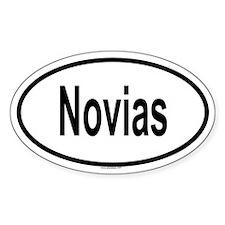 NOVIAS Oval Decal