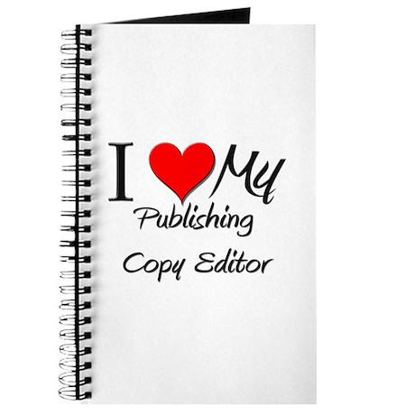 I Heart My Publishing Copy Editor Journal