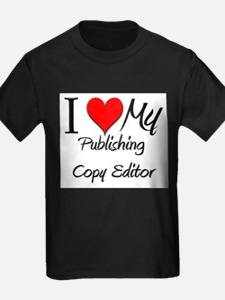I Heart My Publishing Copy Editor T