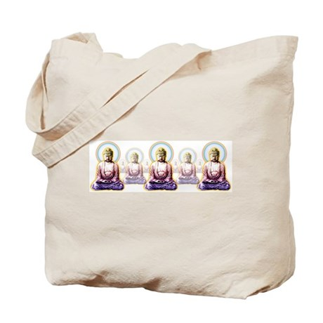 Enlightened Buddhas Tote Bag