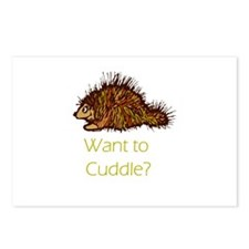 Want to Cuddle?  Postcards (Package of 8)