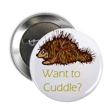 "Want to Cuddle? 2.25"" Button (10 pack)"