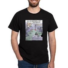 Frankenstein Memory Installation T-Shirt
