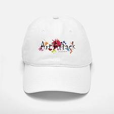 Art Attack Artist Baseball Baseball Cap