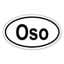 OSO Oval Decal