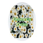 Garden Diva Oval Ornament