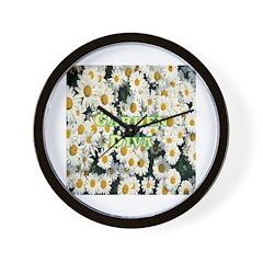 Garden Diva Wall Clock