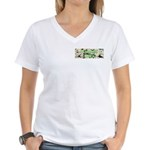 Garden Diva Women's V-Neck T-Shirt