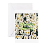 Flower Power Greeting Cards (Pk of 20)