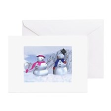 snow couple Greeting Cards (Pk of 20)