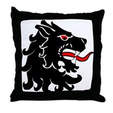 Populace Badge Two Throw Pillow