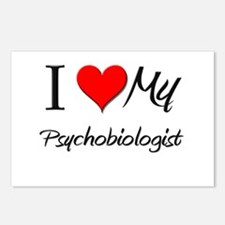 I Heart My Psychobiologist Postcards (Package of 8