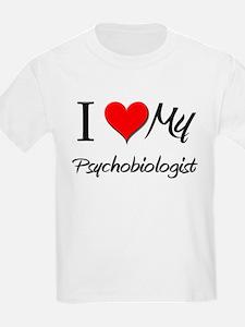 I Heart My Psychobiologist T-Shirt