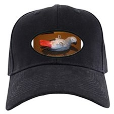 African Grey Baseball Hat