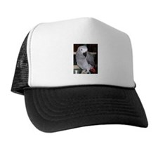 African Grey Trucker Hat