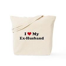 Cute I love husband Tote Bag