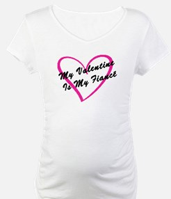 My Valentine Is My Fiancé Shirt