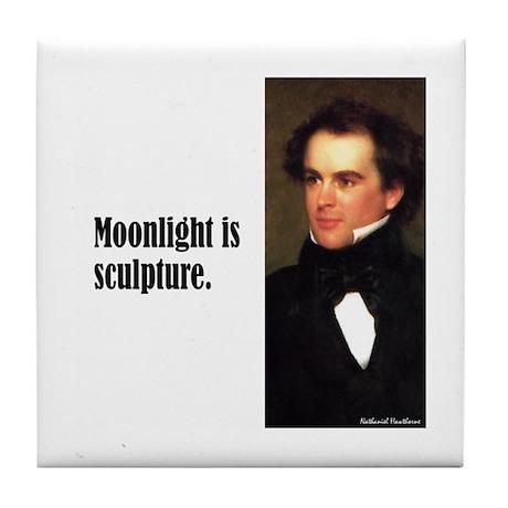 "Hawthorne ""Moonlight"" Tile Coaster"