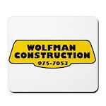Wolfman Construction Mousepad