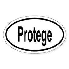 PROTEGE Oval Decal