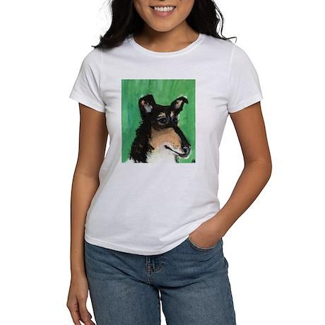 SMOOTH COLLIE portrait Women's T-Shirt