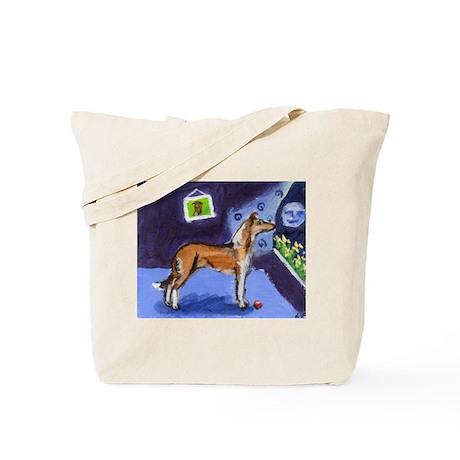 SMOOTH COLLIE sable moon Tote Bag