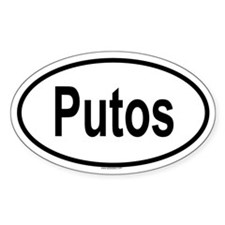 PUTOS Oval Decal