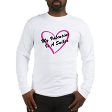 My Valentine Is A Sailor Long Sleeve T-Shirt
