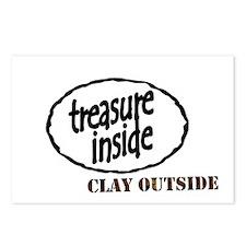 Treasure Inside Postcards (Package of 8)