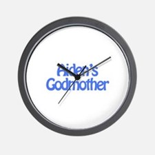 Aiden's Godmother Wall Clock