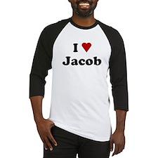 I Love Jacob Baseball Jersey