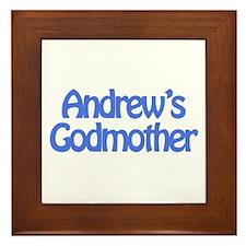 Andrew's Godmother Framed Tile