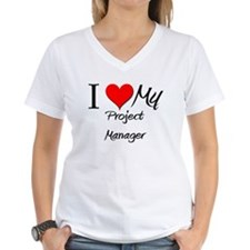 I Heart My Project Manager Shirt