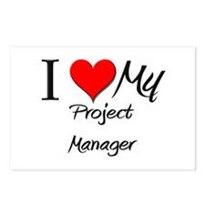 I Heart My Project Manager Postcards (Package of 8