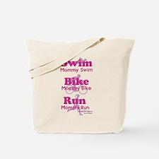 Triathlon Mommy Tote Bag