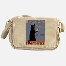 Black Cat Fine Coffees Messenger Bag
