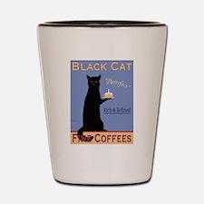 Black Cat Fine Coffees Shot Glass