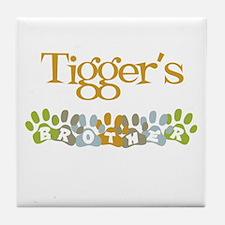 Tigger's Brother Tile Coaster