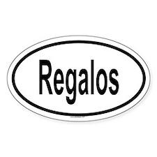 REGALOS Oval Decal