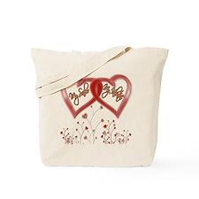 My Sailor, My Valentine Tote Bag